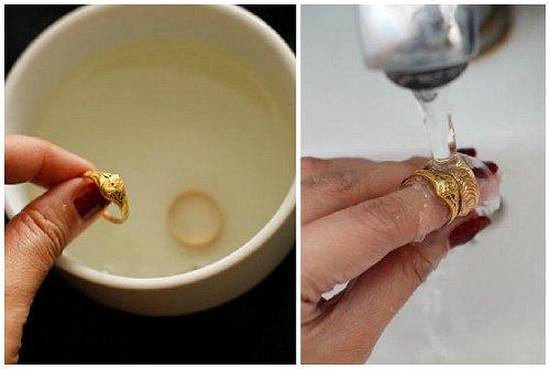 Как лучше чистить золото в домашних условиях 5