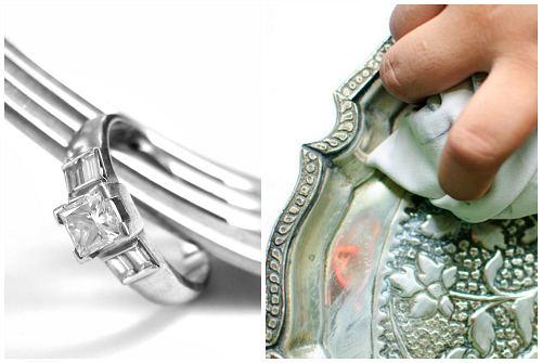 приборы и украшения из серебра