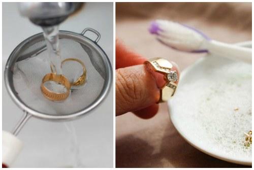 Чем чистить золото в домашних условиях содой 770
