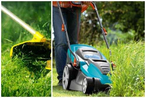 уборка травы