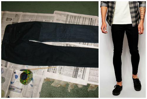 черный цвет штанов