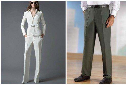 женские и мужские модели