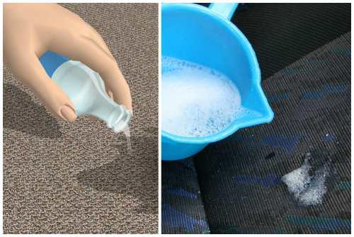 моющие составы и мыльный раствор