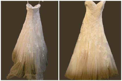 Постирать свадебное платье в домашних условиях 927