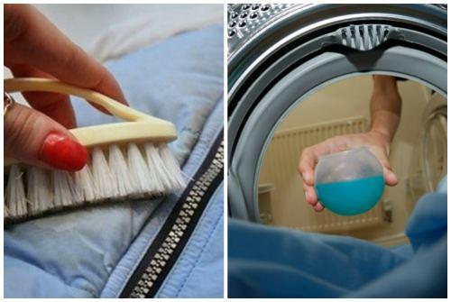 чистка и жидкое моющее