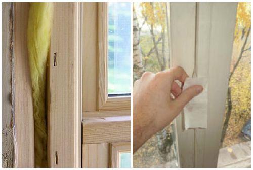 Как утеплить деревянные окна на зиму своими руками фото 86