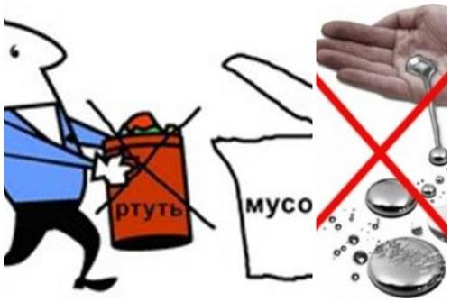 выброс в контейнер и попадание на кожу опасны