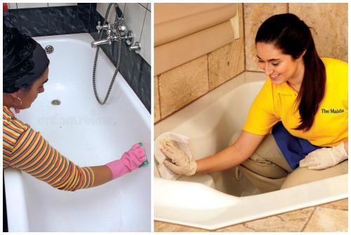 Как мыть акриловую ванну в домашних условиях 498