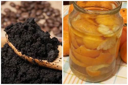 кофе и цитрусовые