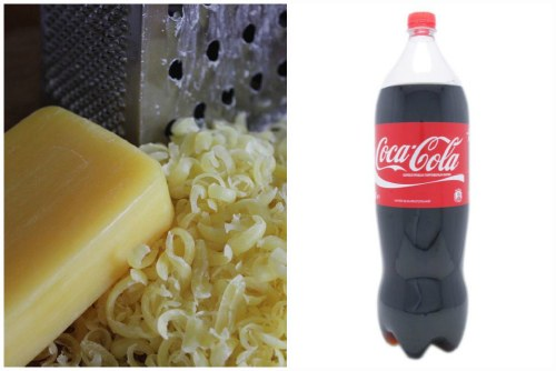Мыльная стружка и кока-кола