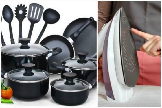 Тефлоновое покрытие посуды и утюга