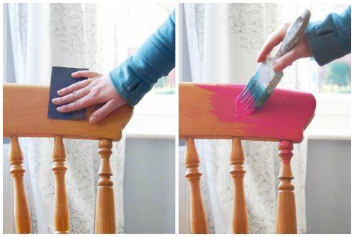 зачистка и покраска