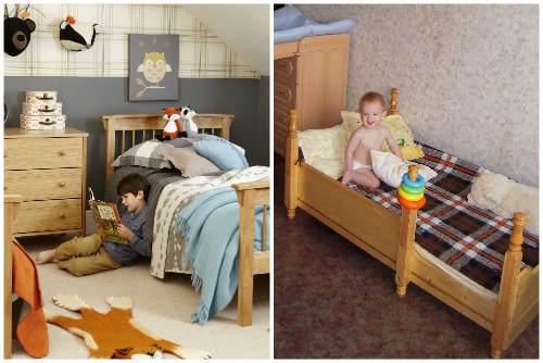 Кровати для детей разных возрастов