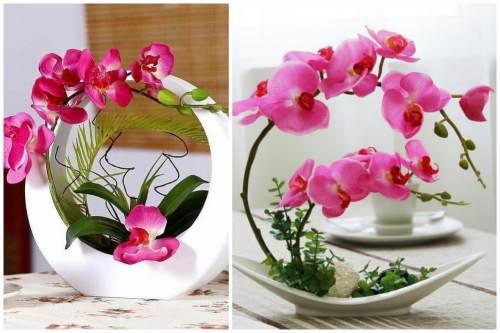 Икебана из орхидей