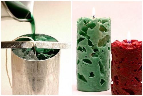 Ажурные свечи