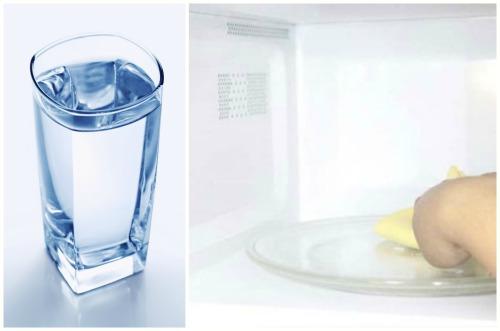 чистка чистой водой