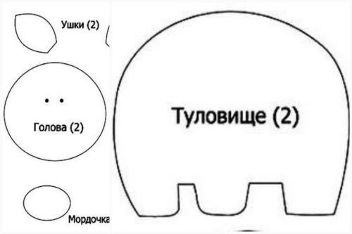 """""""выкройка"""" поросенка"""