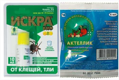 от насекомых и клещей