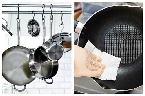 Сковородки с разными покрытиями