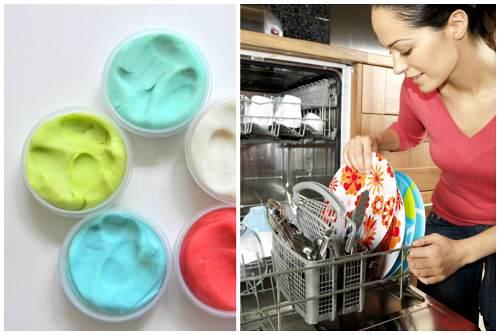 глина и посудомоечная машина