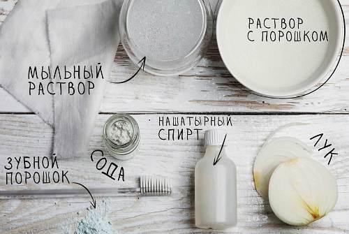 ингредиенты для чистки
