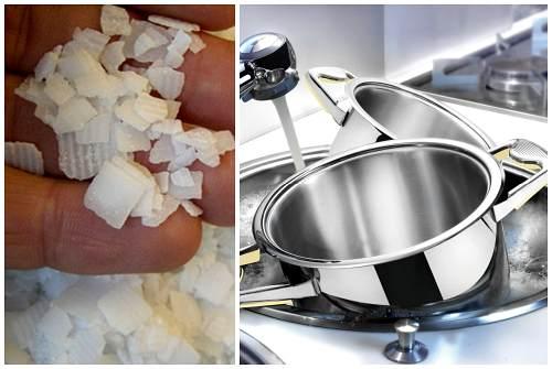 каустик для посуды