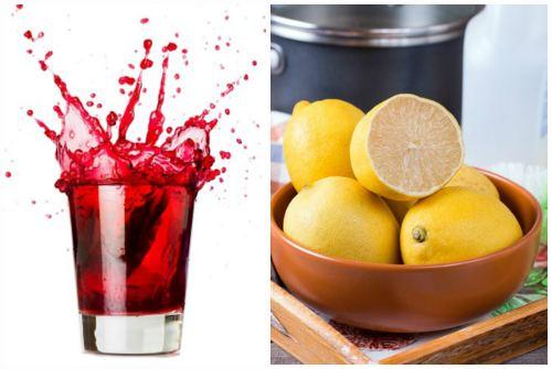 лимон от фруктовых пятен