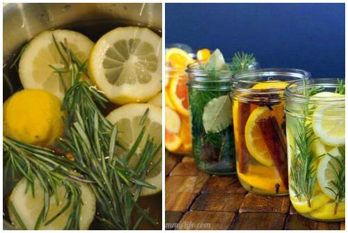 лимонно-розмариновый аромат