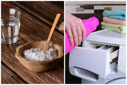 сода и моющие средства