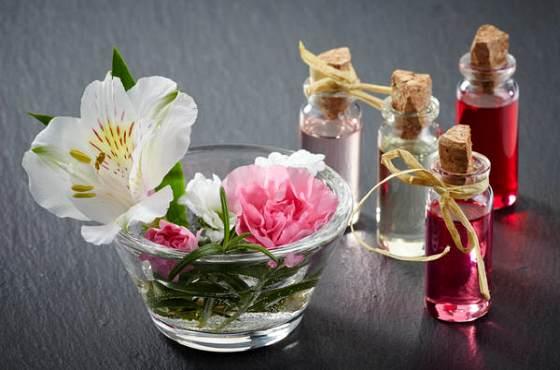цветы и аромамасла