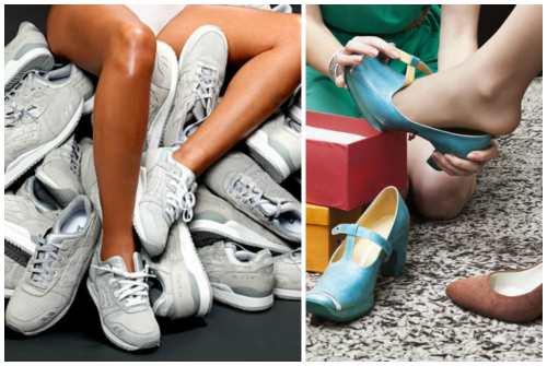 для классической и спортивной обуви