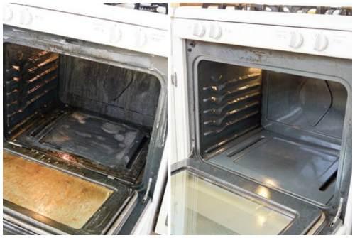 духовка до и после