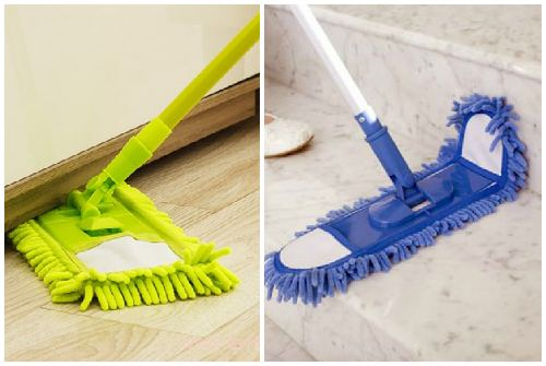 мытье под мебелью и плинтусов