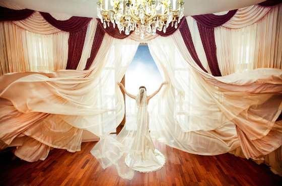 объемные шторы