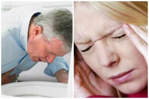 тошнота и головные боли
