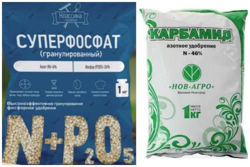 фосфорные и азотные удобрения