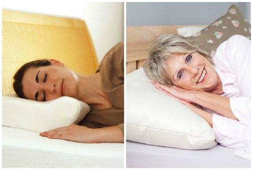 разница между ортопедической и обычной подушкой