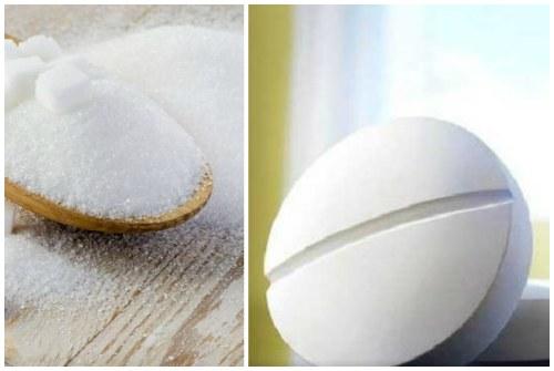 сахар и аспирин