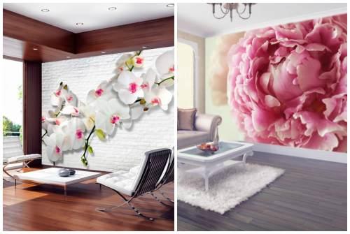 орхидея и пион