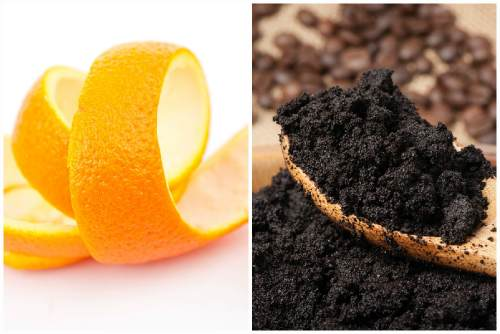 Цедра апельсина и кофе