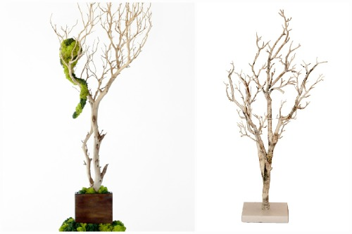 Крупные деревца