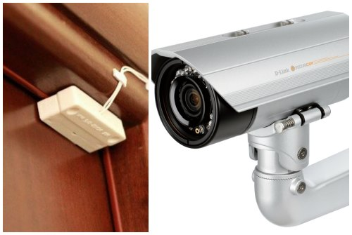 датчики и камера