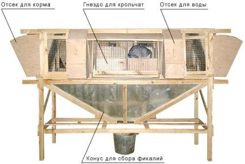 клетка от Михайлова
