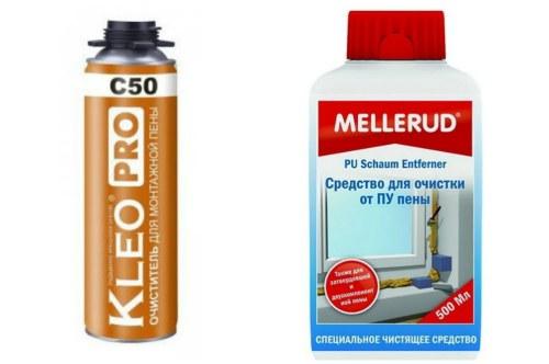 Kleo pro C50 и Mellerud