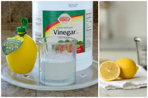 Лимон, лимонная кислота, уксус