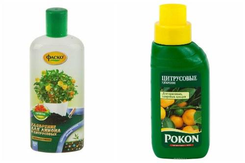 жидкие удобрения для цитрусовых