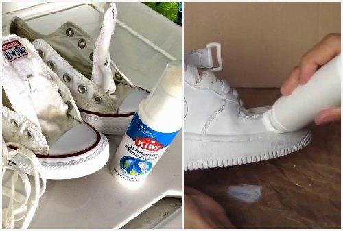 обработка чистой обуви