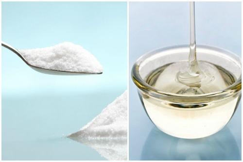соль и глицерин