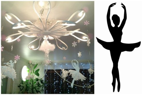 Балерина-снежинка