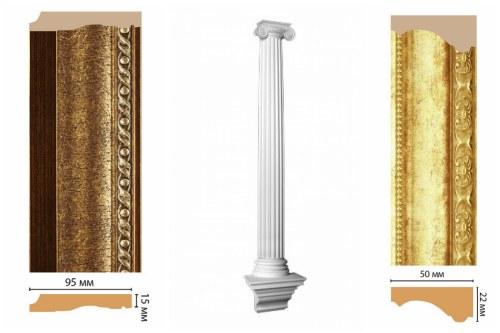 Декоративные элементы из полиуретана